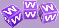 סמל דקורציה WWW אינטרנט