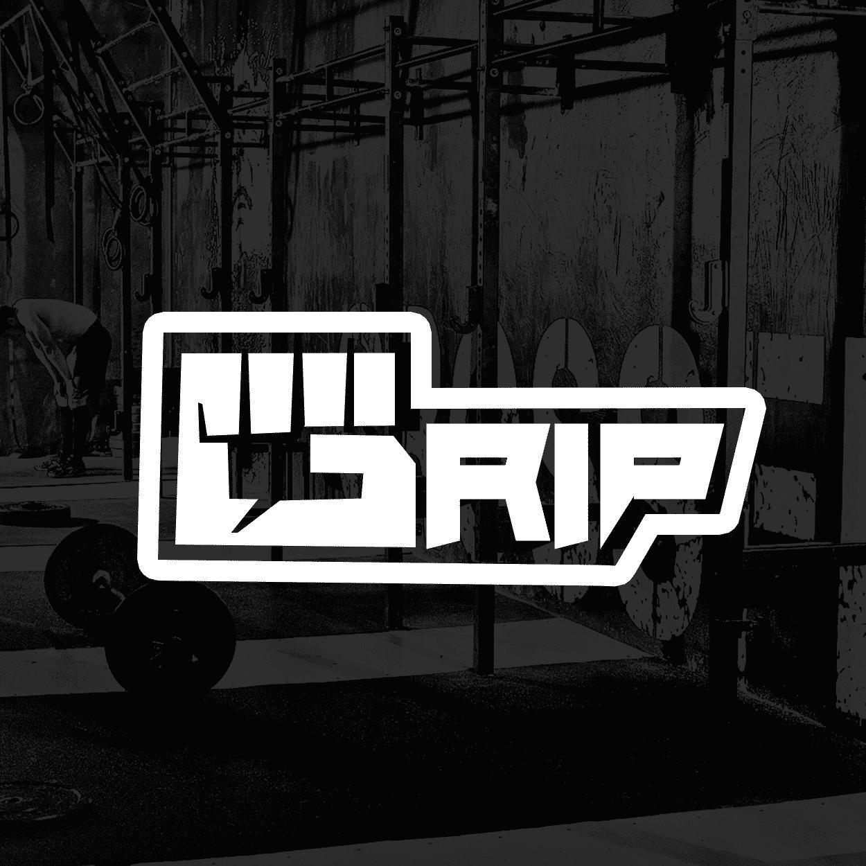 לוגו למתחם כושר GRIP